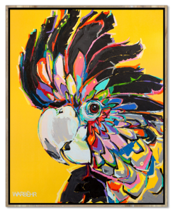 warbehr-print-black-cockatoo-on-mustard_grande