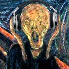 scream on headphones